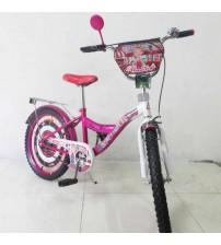 "Велосипед Tilly Автоледі 20"" crimson + white"
