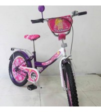 "Велосипед Tilly Балеринка 20"" purple + white"
