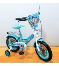 "Велосипед Tilly Корсар 14 ""turquoise + white з додатковими колесами"