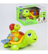 Черепашка, говорить англійською мовою, світлові та звукові ефекти