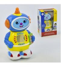 Робот, пісня на англ. мові, підсвічування, рух від батарейок