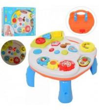Ігровий розвиваючий центр-столик 2в1