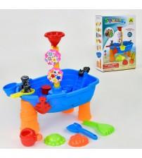 Столик для песка и воды с аксессуарами