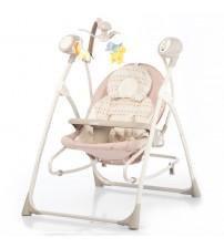 Музична колиска-гойдалка CARRELLO Nanny 3 в 1 Beige Dot