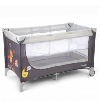 Манеж-ліжко CARRELLO Piccolo+ Grey