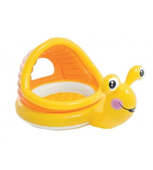 Дитячий надувний басейн з навісом (145 * 102 * 74 см)