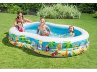 Дитячий надувний басейн 262 * 160 * 46 см