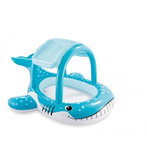 Дитячий надувний басейн з навісом (211 * 185 * 109 см)