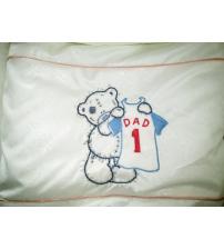Дитячий постільний комплект Bonna з вишивкою « Dad 1»