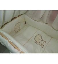 Дитячий постільний комплект Bonna з вишивкою