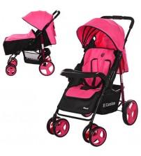 Прогулянкова коляска EL Camino Next Pink