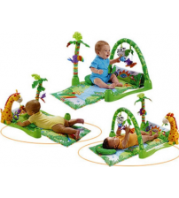 Музичний розвиваючий килимок джунглі