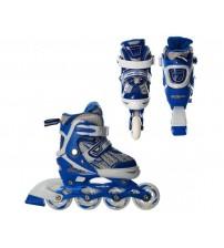 Роликові ковзани (ролики) для дітей з поліуретановими колесами (30-33)