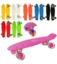 Скейт Пенні борд з світящими колесами