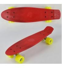 Скейт, колеса PU без світла, дошка = 55 см