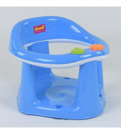 """Дитяче сидіння для купання на присосках """"BIMBO"""", колір ГОЛУБИЙ"""