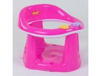"""Дитяче сидіння для купання на присосках """"BIMBO"""", колір РОЖЕВИЙ"""